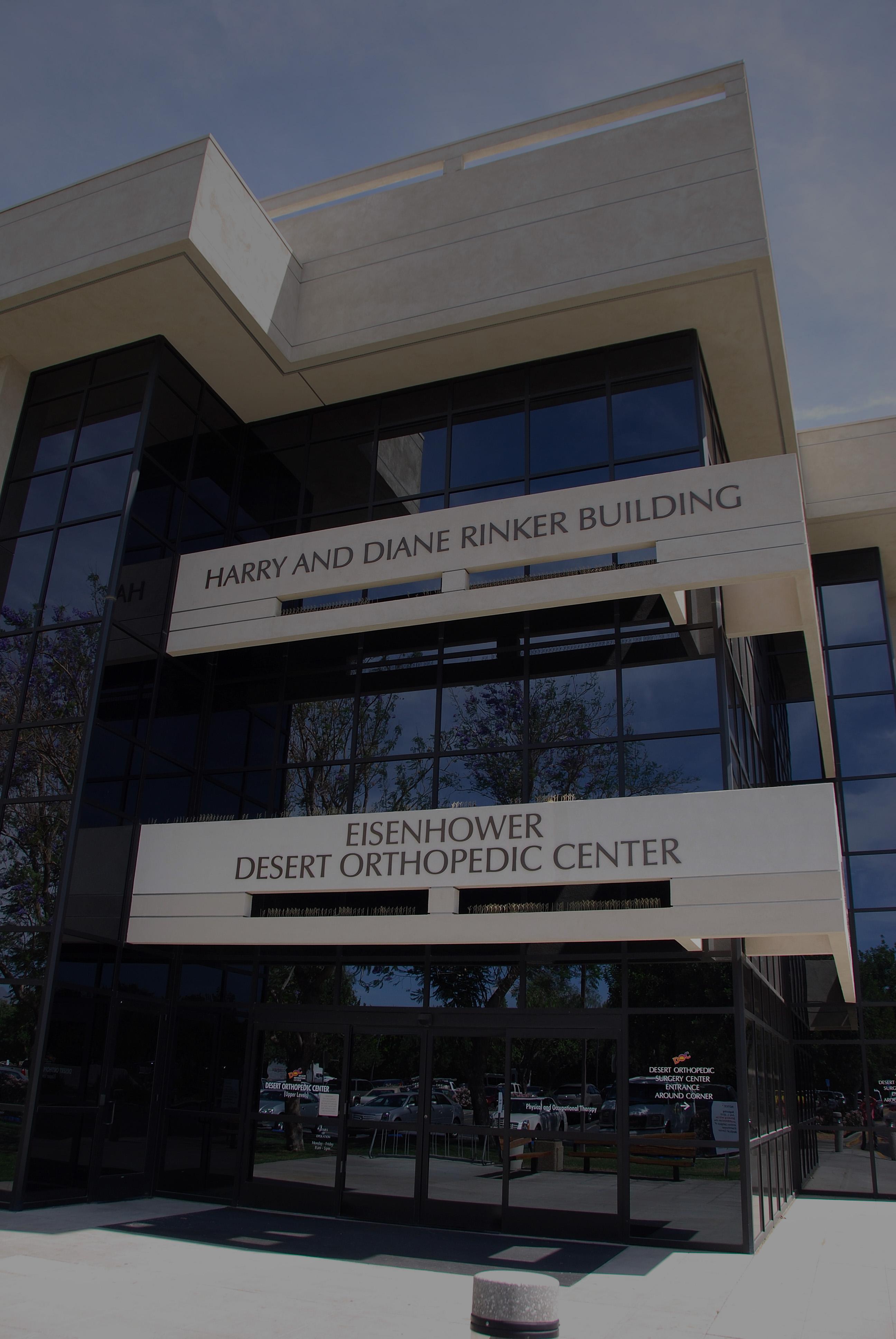 Eisenhower Desert Orthopedic Center Clinic Division Careers